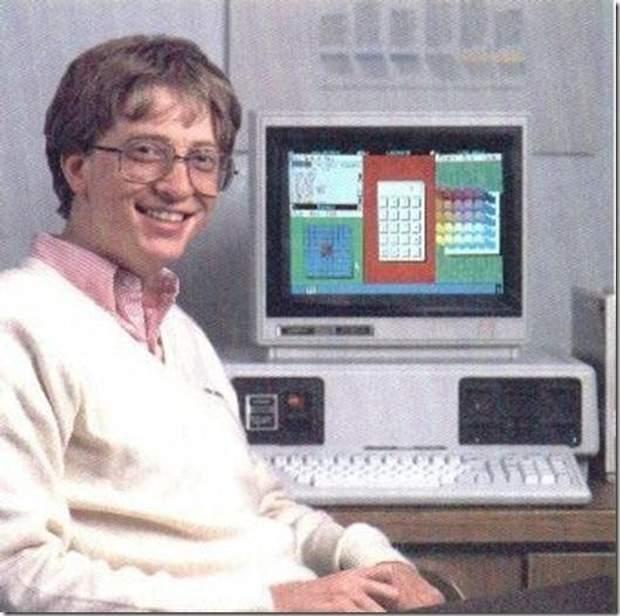 Білла Гейтса комп'ютери захоплювали ще з юності