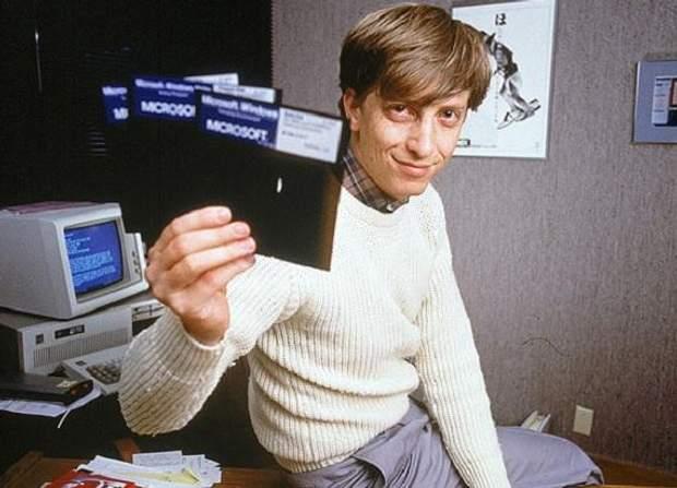 Білл Гейтс – засновник Microsoft