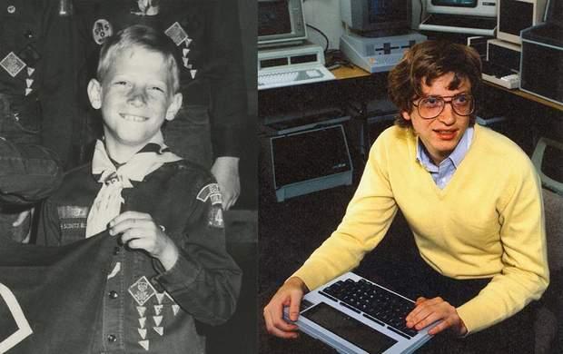 Білл Гейтс у дитинстві