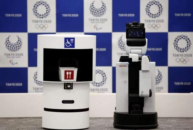Олімпійські ігри у Токіо обслуговуватимуть роботи