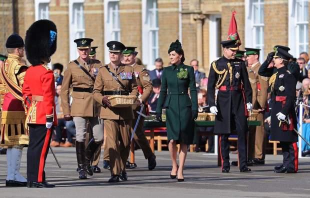 Герцоги Кембриджські відзначили День святого Патрика