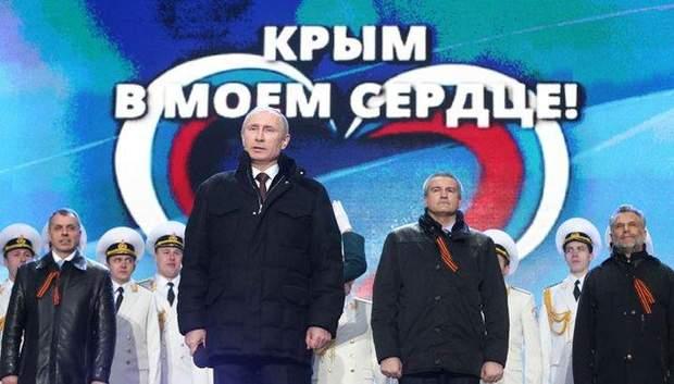 Володимир Путін в Криму