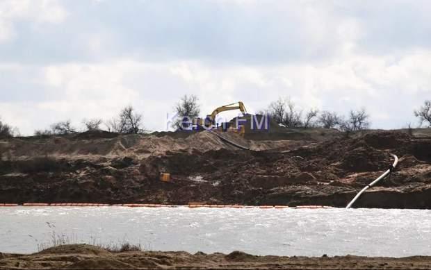 Пісок Керч Крим екологія