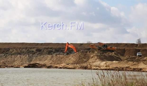 Крим Керч пісок видобуток екологія хвостосховище