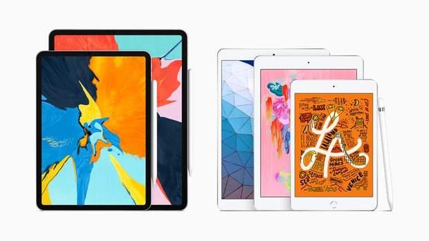 Нові iPad Air та iPad mini