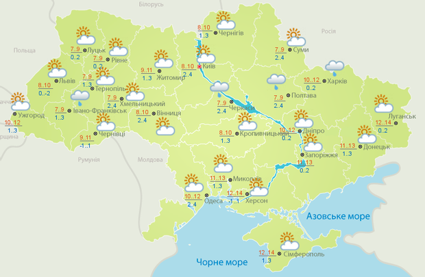 погода на березень погода на 20 березня погода в Україні