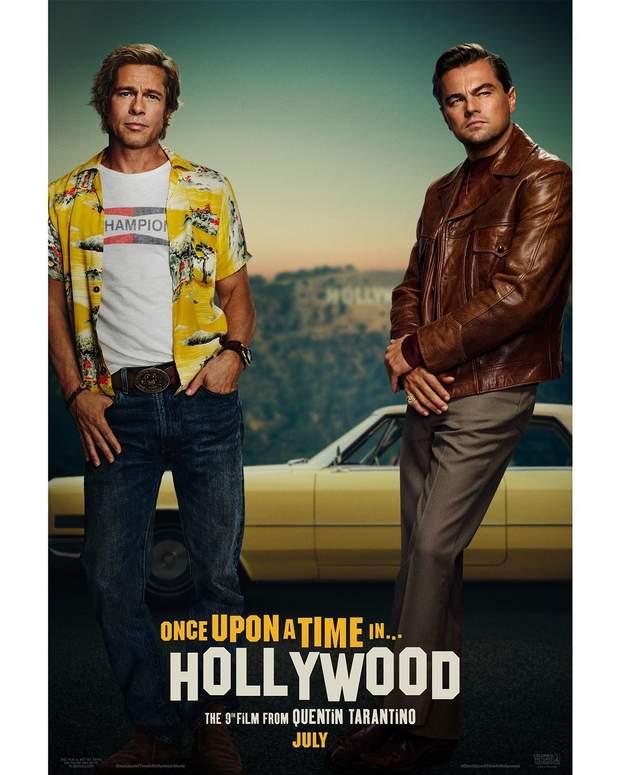 """Как выглядят первые постеры фильма """"Однажды в Голливуде"""" Квентина Тарантино"""