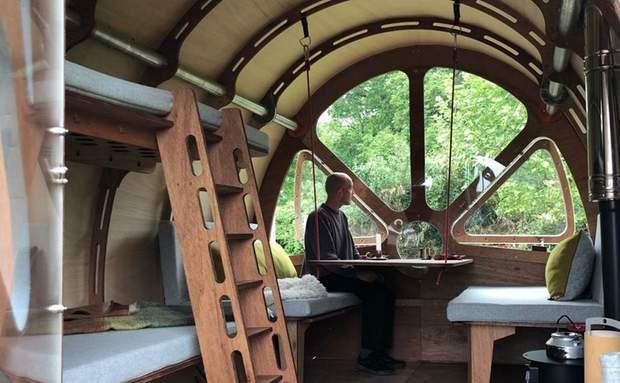 Ось так виглядає автономна кабіна всередині