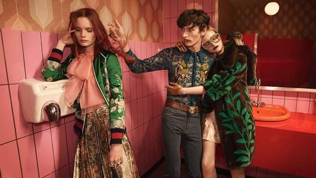Рекламна кампанія Gucci весна-літо 2016