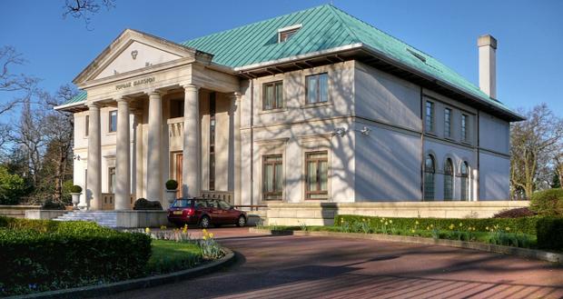 Назарбаєв особняк Топрака бішопс авеню