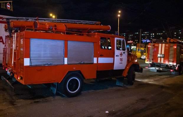 київ пожежа магазин roshen