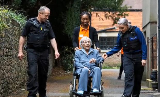 британія пенсіонерка мрія арешт 104 роки