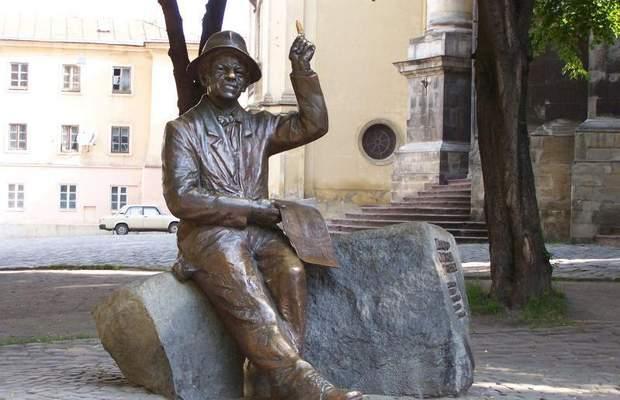 никифор дровняк львів пам'ятник