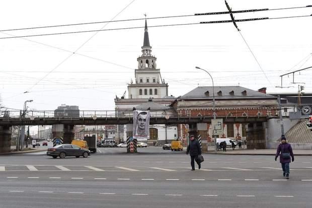 банер олег сенцов москва  росія