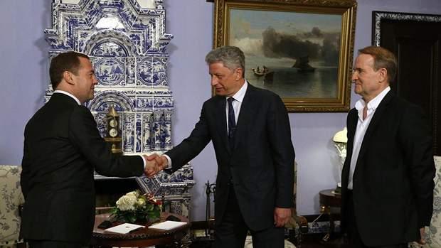 Бойко та Медведчук у Москві