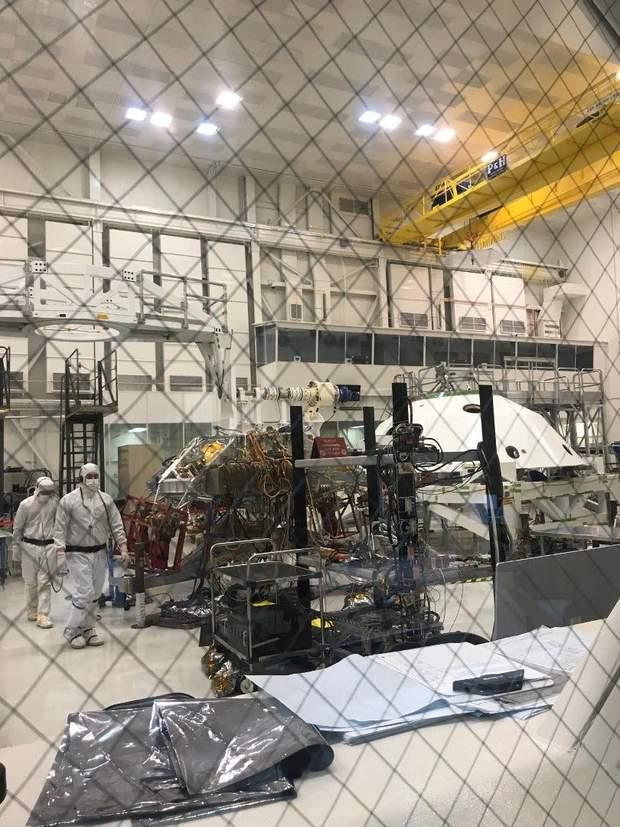 NASA протестувало марсохід для місії Mars 2020