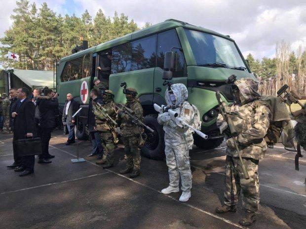 військова техніка Національна гвардія