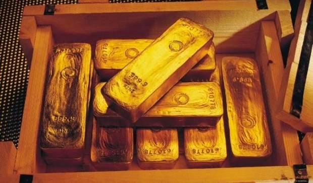 Золоті злитки