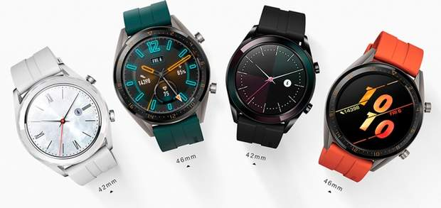 Huawei Watch GT Active Edition та Elegant Edit