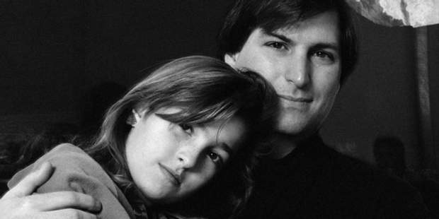 Стів Джобс та його донька Ліза