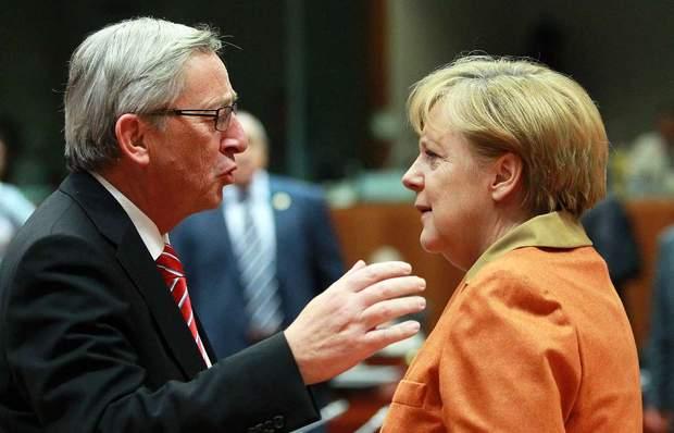 Меркель та Юнкер