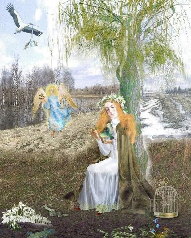 7 квітня – Благовіщення