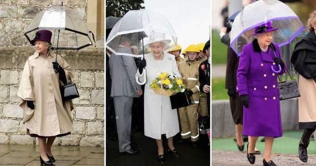 єлизавета 2 парасолька
