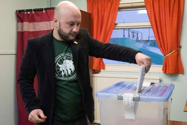 Академік Вернадський, Антарктида, голосування, вибори президента