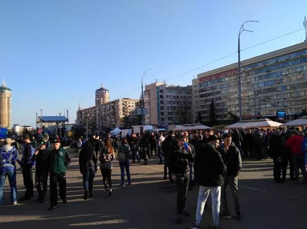 проплачений мітинг цвк день виборів президента України