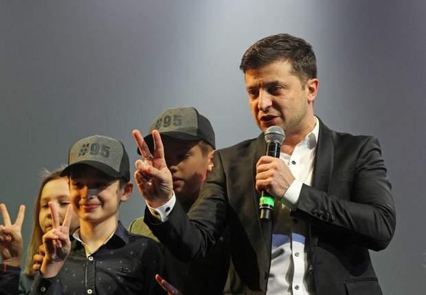 Володимир Зеленський, президентські вибори 2019,