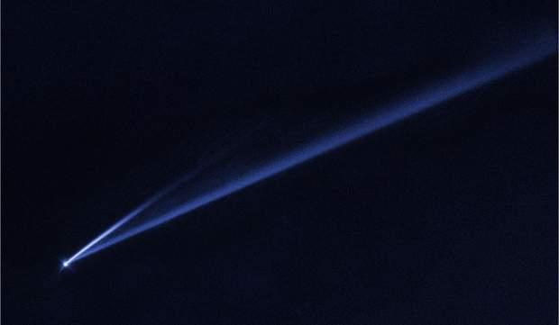 Hubble сфотографував процес розпаду астероїда
