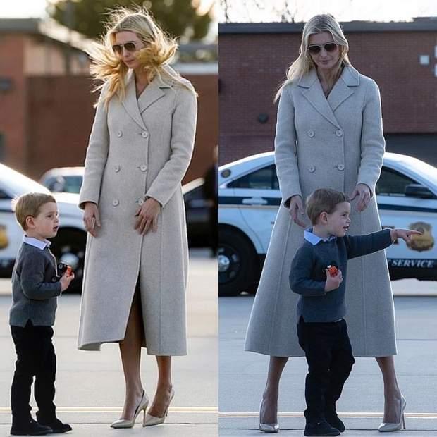 Іванка Трамп з сином