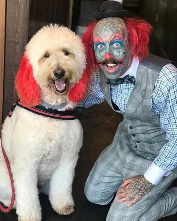 Людина-клоун