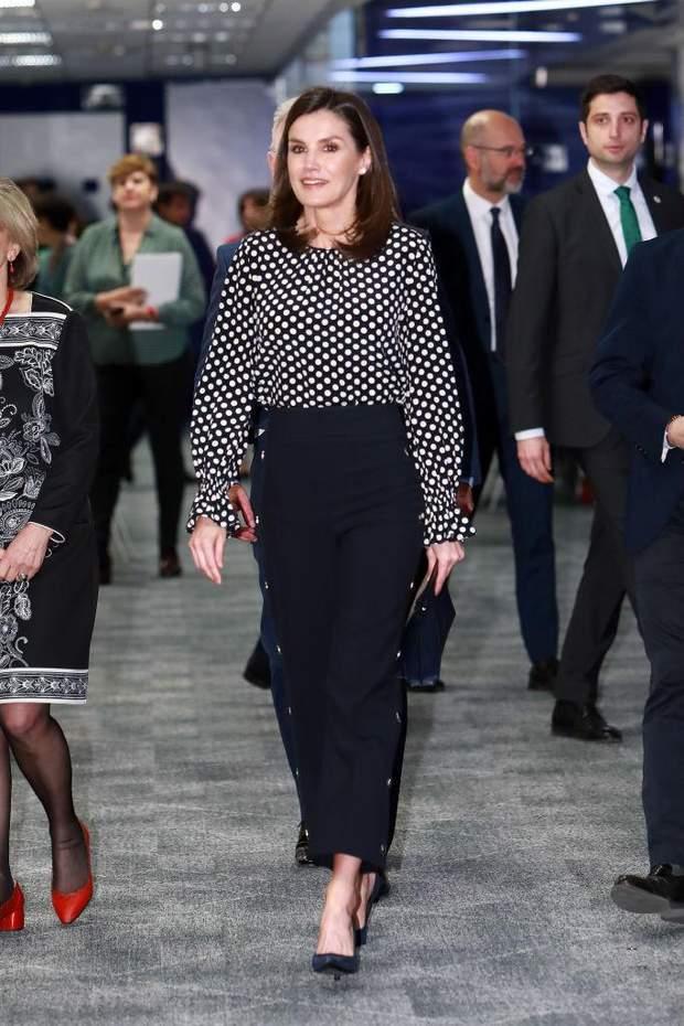 Королева Летиція у Мадриді