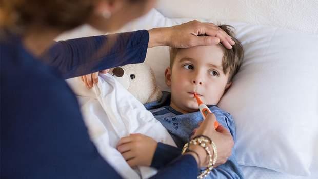 Якщо у дитини висока температура протягом трьох днів, то зверніться до лікаря