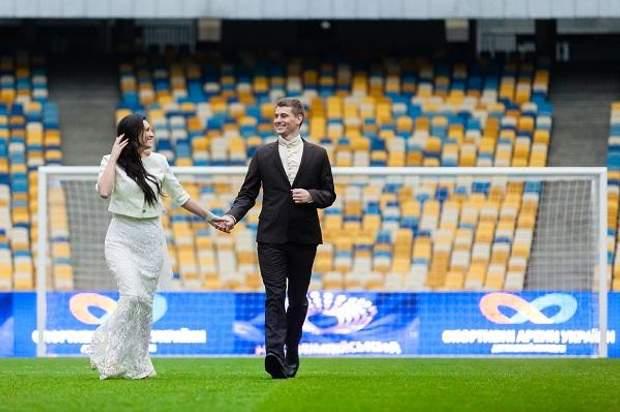 НСК Олімпійський весільна фотосесія