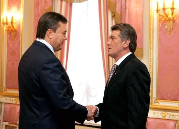 Янукович та Ющенко