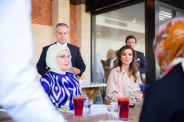 Еміне Ердоган і королева Ранія