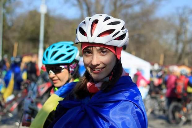 Учасники Одеської велосотки-2019