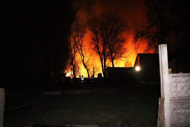 Пожежа, Київ, Вибухи