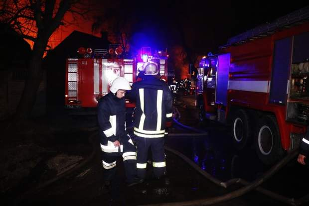 Пожежа, вибухи, Київ