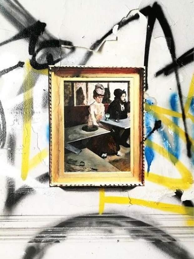 мистецтво живопис картини закинуті будівлі
