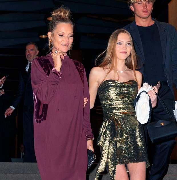 Кейт Мосс і її дочка Ліла