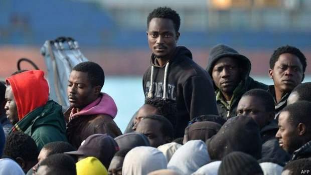 мигранты африка
