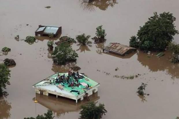 Наводнение в Мозамбике