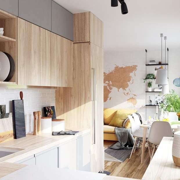 інтерєр дизайн меблі хюге квартира львів