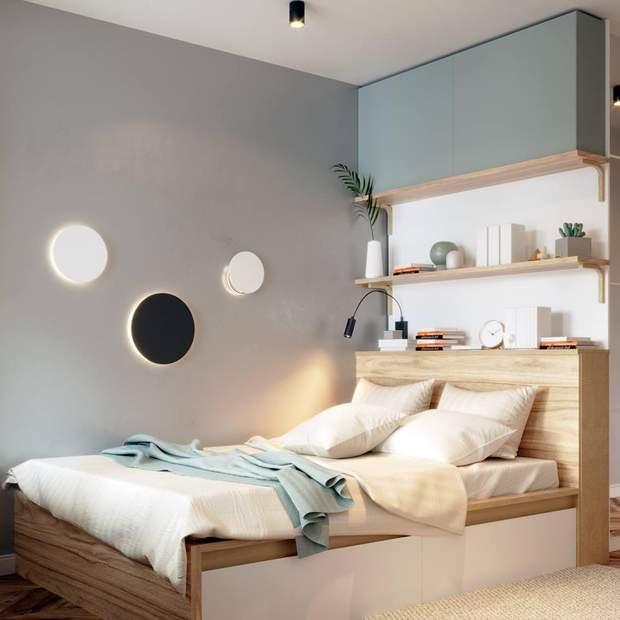 інтерєр дизайн декор спальня меблі