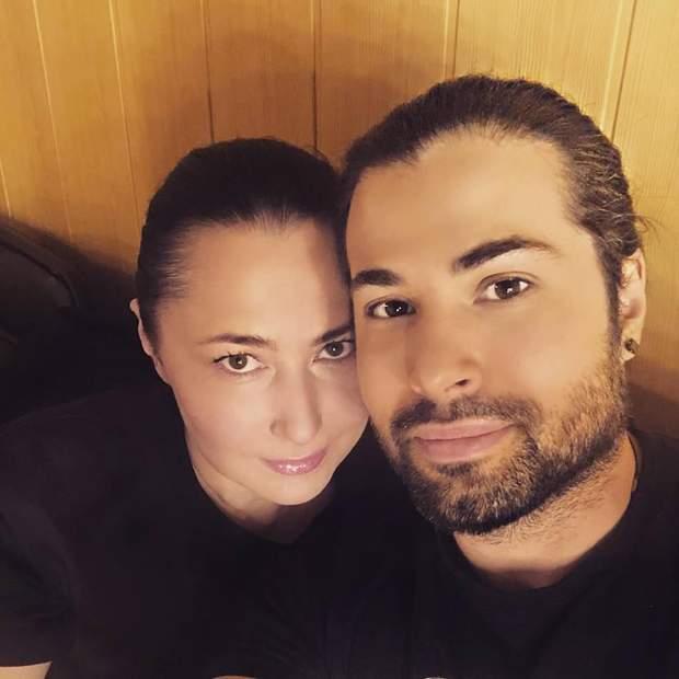 Олена Мозгова з чоловіком Девідом Аксельродом