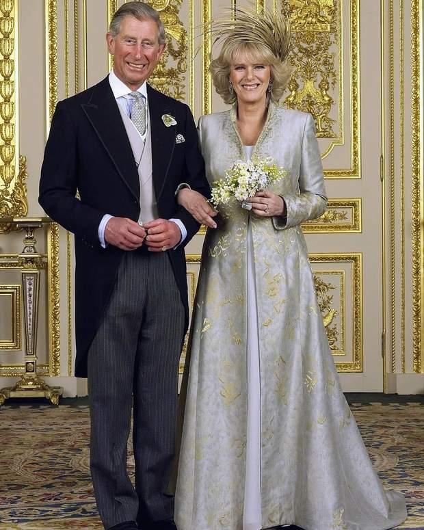 Принц Чарль і Камілла весілля