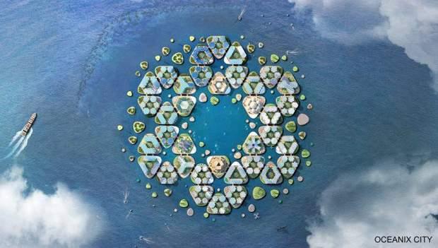 Oceanic City – автономне місто майбутнього